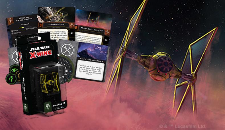 Vorschau auf die Minengilde für Star Wars X-Wing
