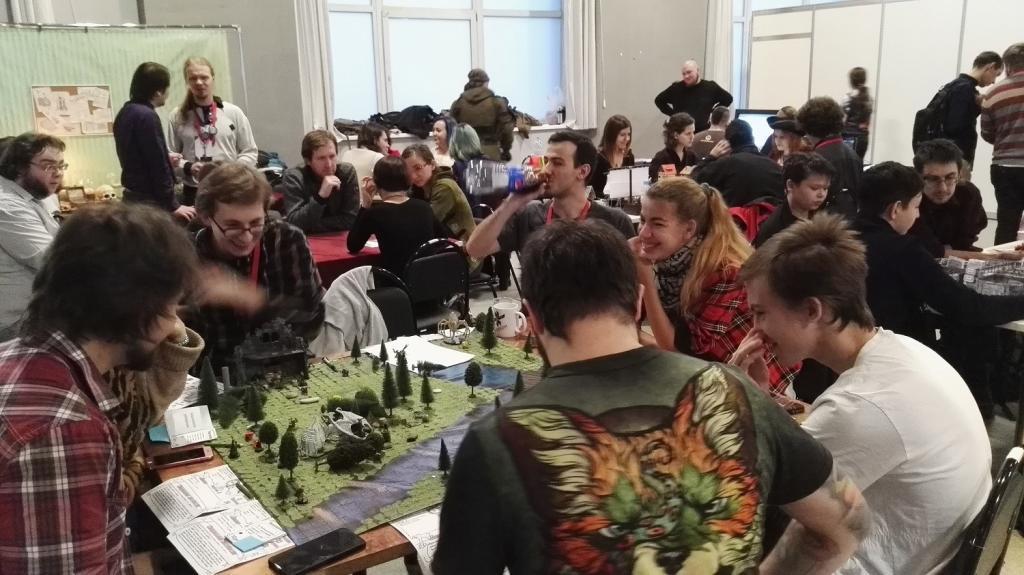 russische Spieler auf der RoleCon 2017