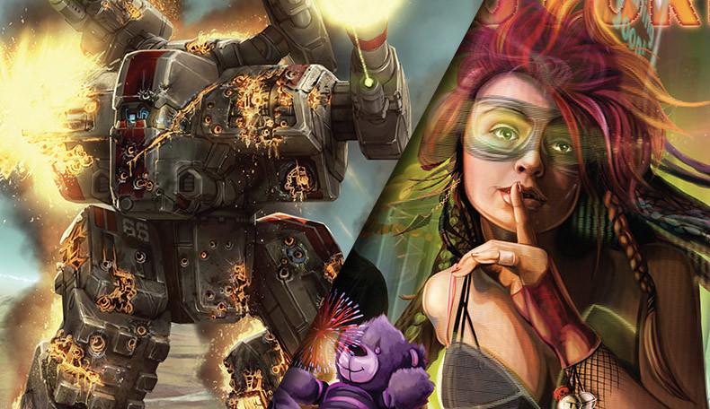 BattleTech und Shadowrun Neuheiten
