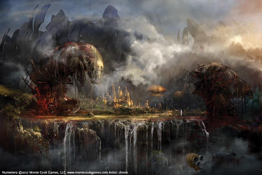 Numenera Art Landscape