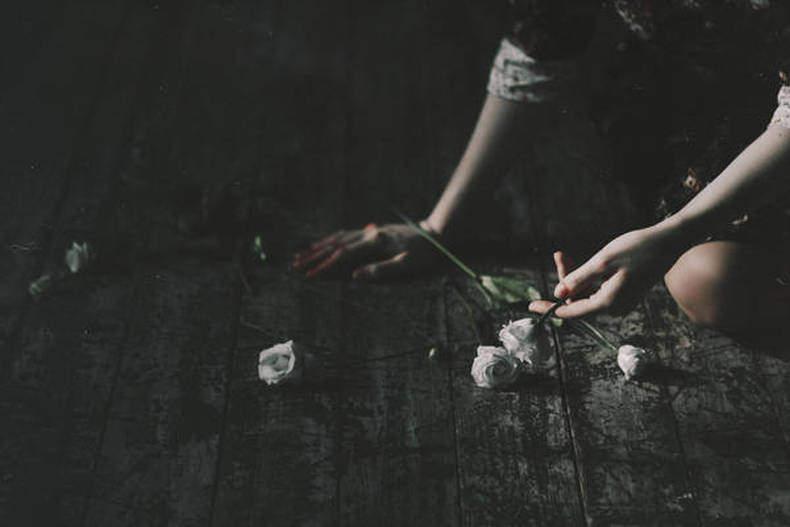 Broken Flowers by Natalia Drepina
