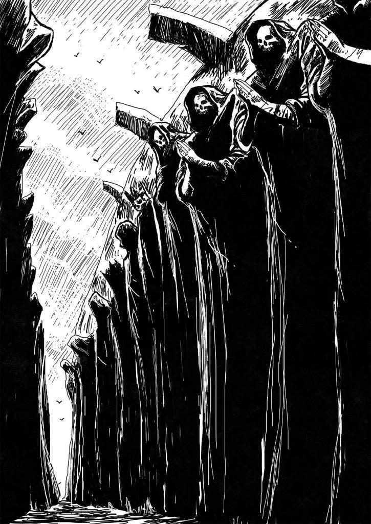 Der Pfad des Todes.