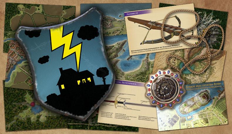 Donnerhaus Blog und Fantasykarten
