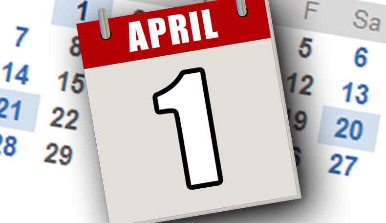 Erster April – Aprilscherze 2019