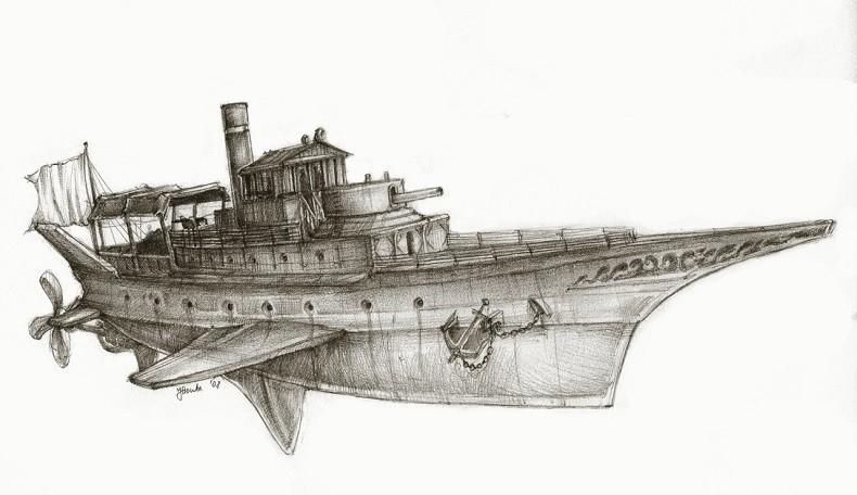 Flugschiff Machina Obscura