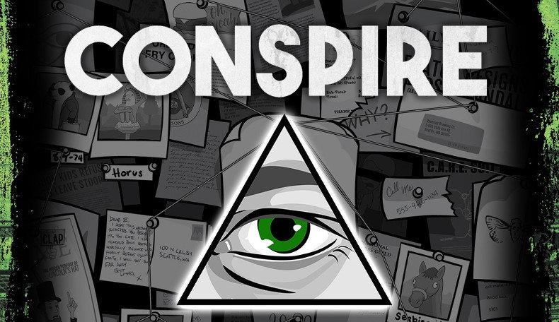Kickstarter zum Erzählspiel Conspire angelaufen – Logo und Schriftzug von Conspire