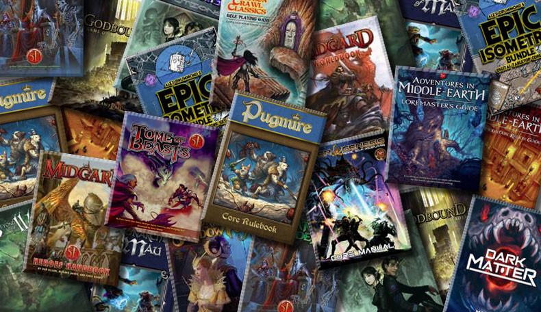 D&D PDF Sale auf Drive Thru RPG