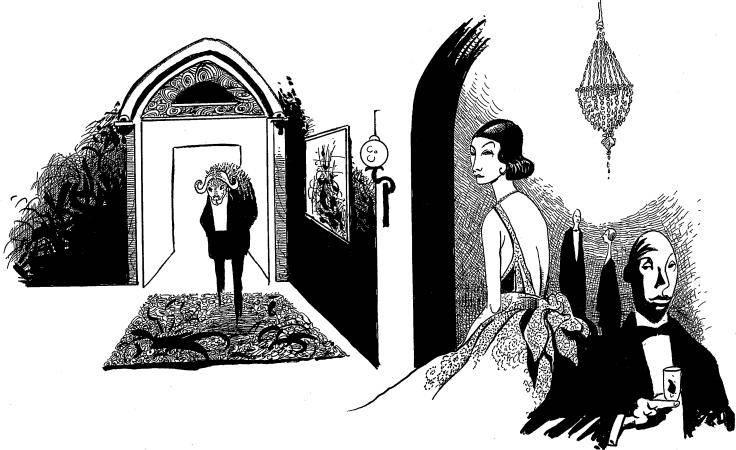 Illustration zur Rezension zum surrealen rollenspiel Itras By