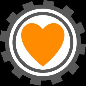 Ein Herz im Takt des Uhrenwerkes