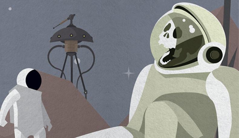 Cover von Be-Movie mit Astronauten