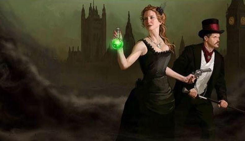 London im viktorianischen Zeitalter mit dem Rollenspiel Clockwork Dominion