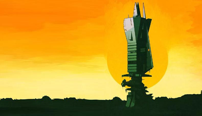 Immagine di Spire - The City Must Fall, pubblicato in italiano da Isola Illyon Edizioni.