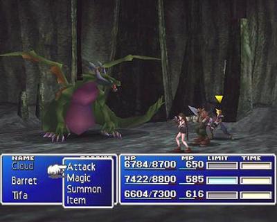 Final Fantasy VII Remake – Kampf früher